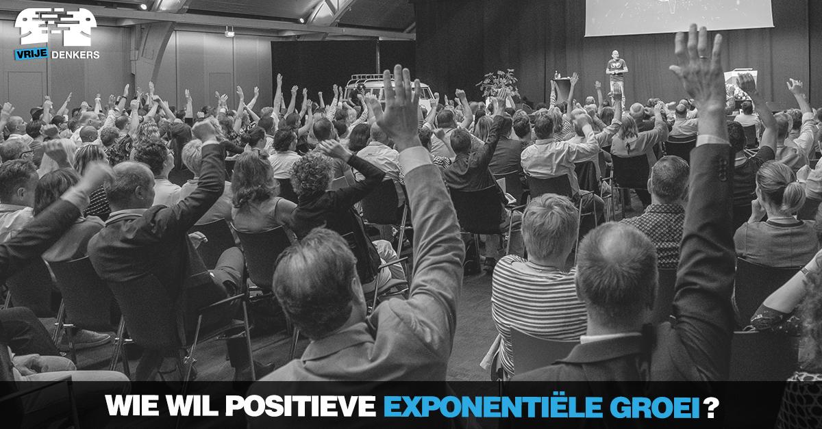 positieve exponentiële groei